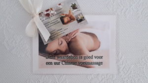 massage kadobon almere massagebon